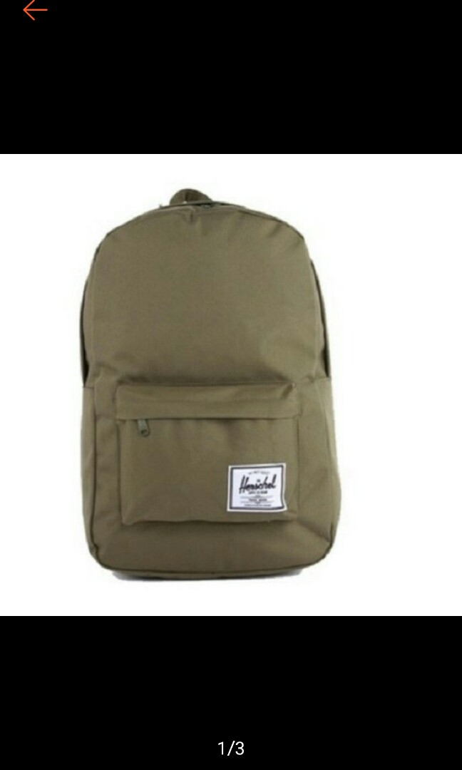 Herschel Unisex Classic Olive Green Backpack bf6408bb259f7