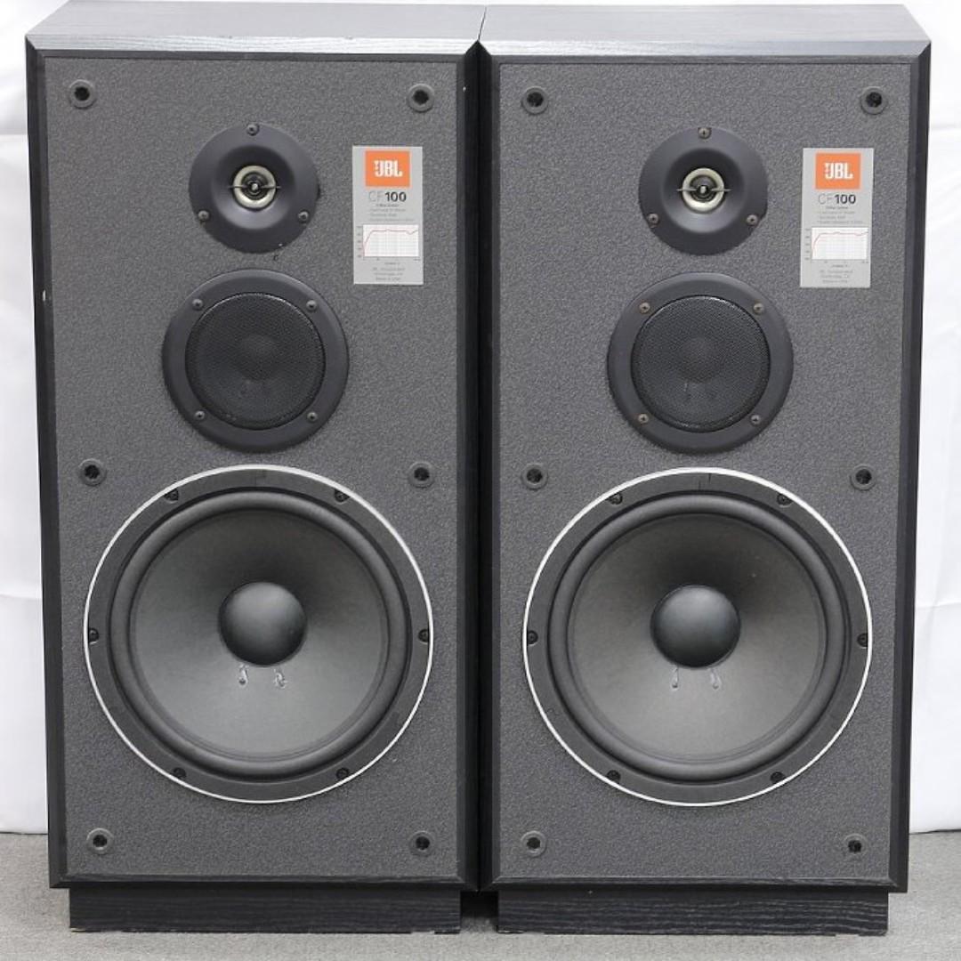 Jbl Cf 100 Floorstanding Speakers Big Bookshelf Speaker