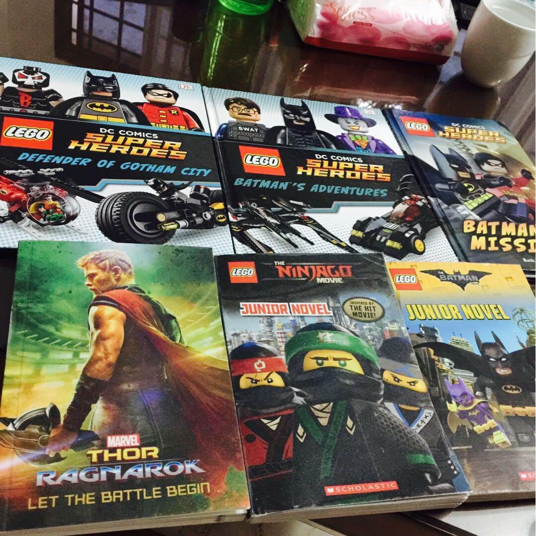 LEGO/Marvel Junior Novel, Books & Stationery, Fiction on Carousell