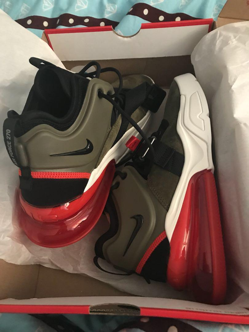 Nike Air force 270 Olive US 8.5 ( For