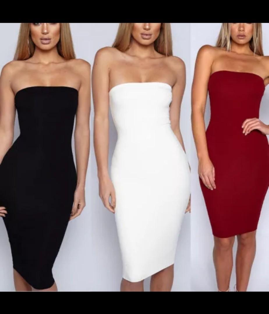 ed11a7ea0f Off Shoulder Bodycon Dress tube dress pencil dress