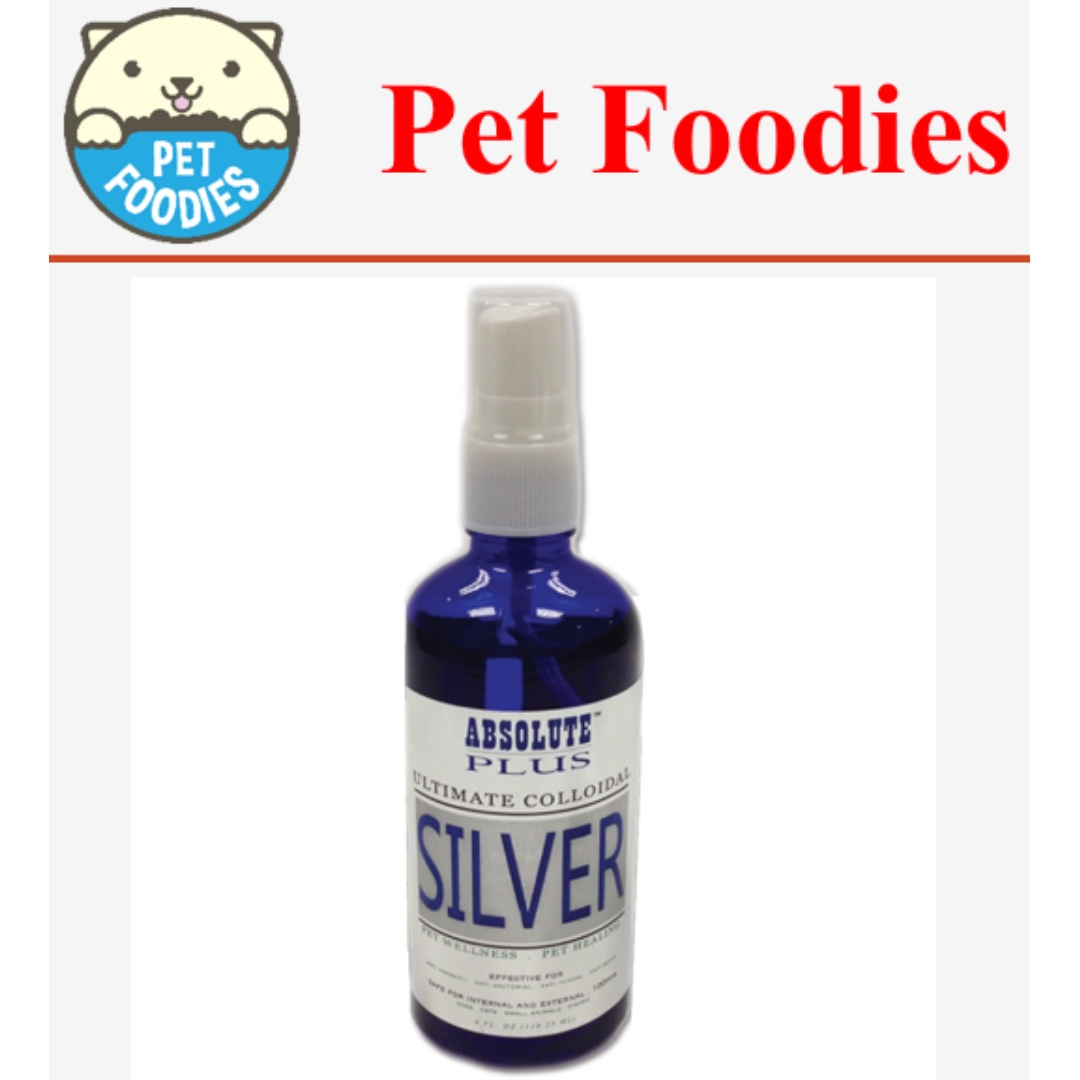 [Pet Foodies] Absolute Plus Ultimate Colloidal Silver Spray 118ml
