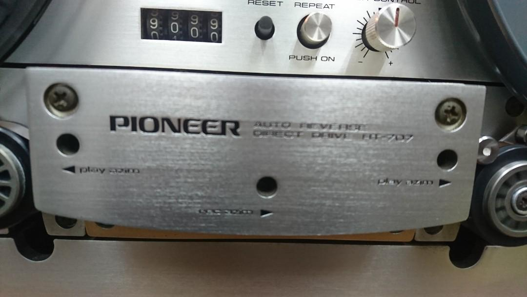 Pioneer open reel tape recorder, RT-707, Electronics, Audio