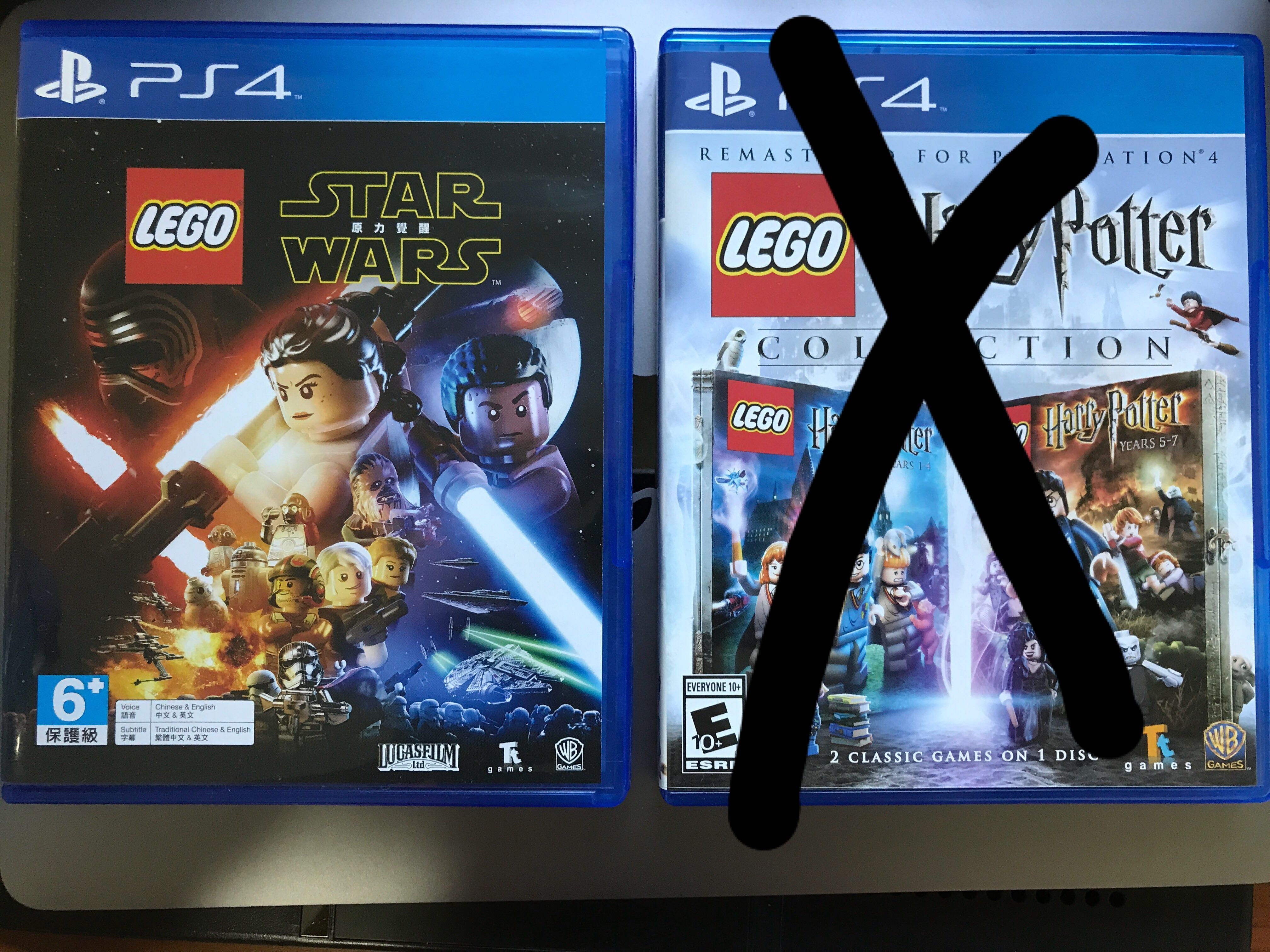 Ps4 Games Co Op Lego Star Wars Toys Games Video Gaming Video