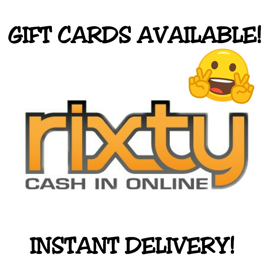 Rixty Code [ Global ], Toys & Games, Video Gaming, In-Game Products
