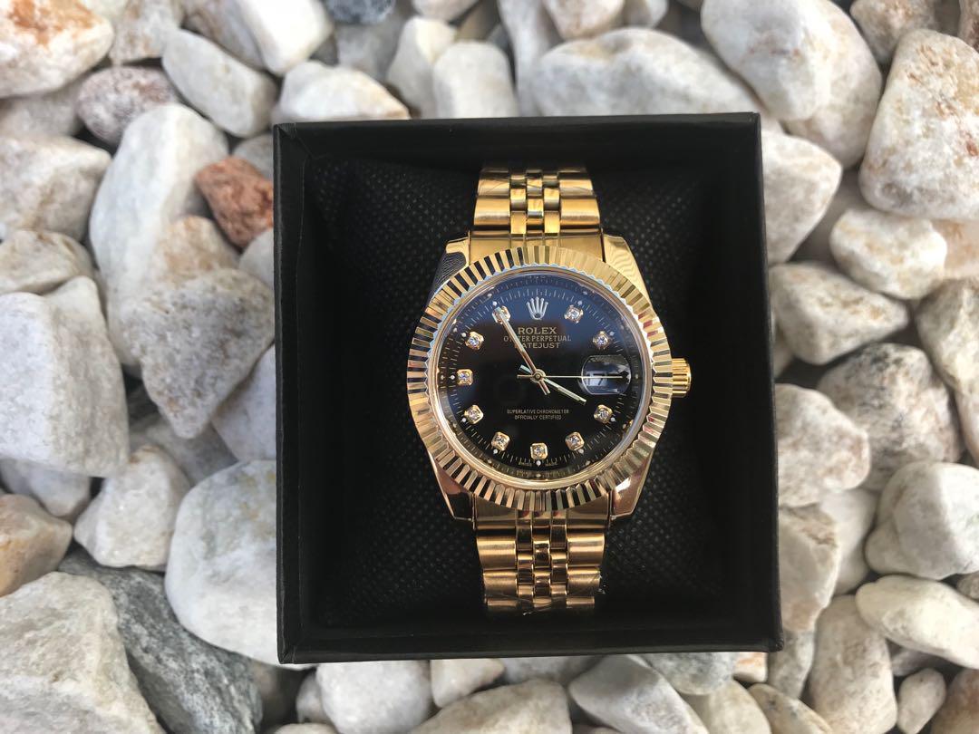 Rolex gold watch