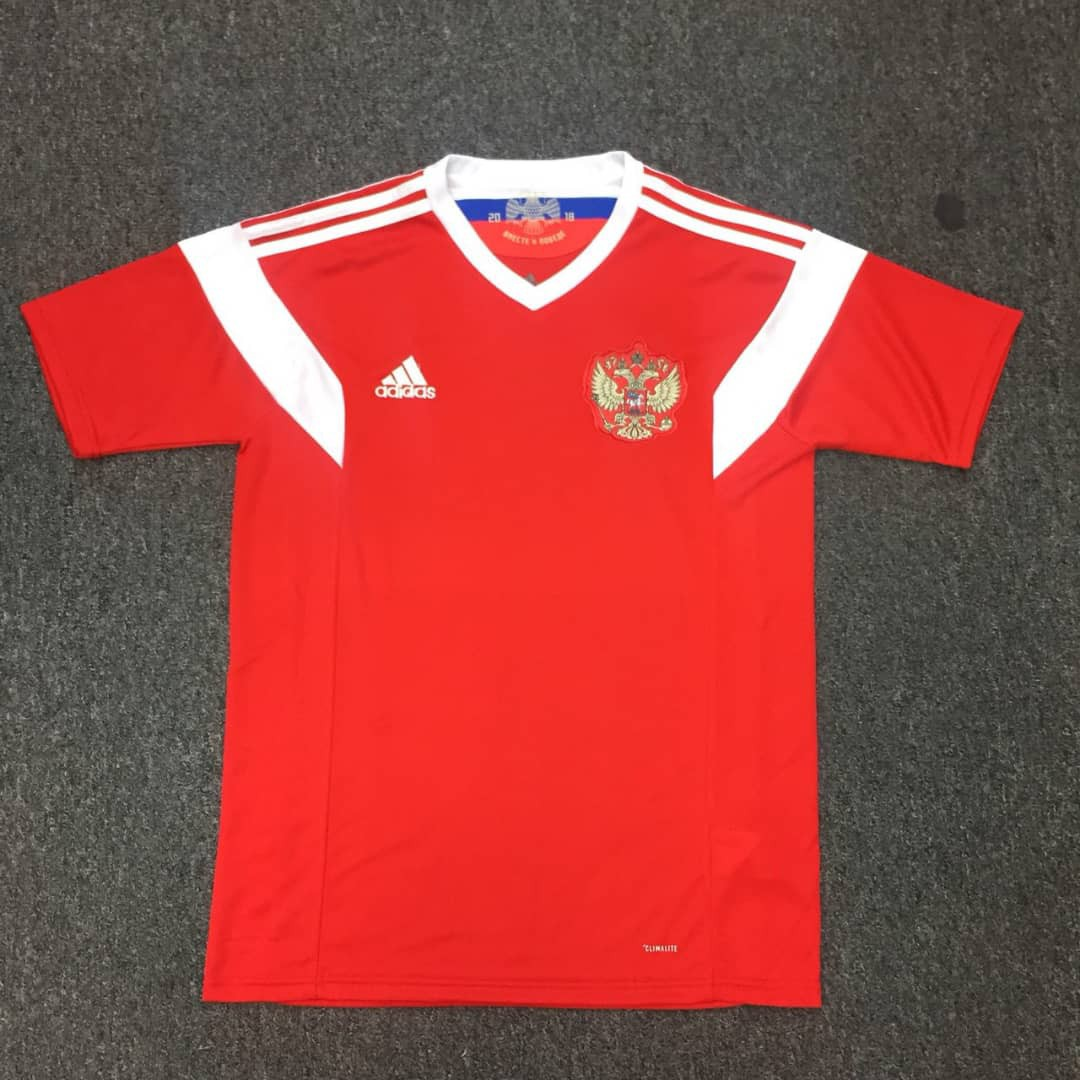 the latest bc215 fde93 Russia World Cup Home Home kit 2018