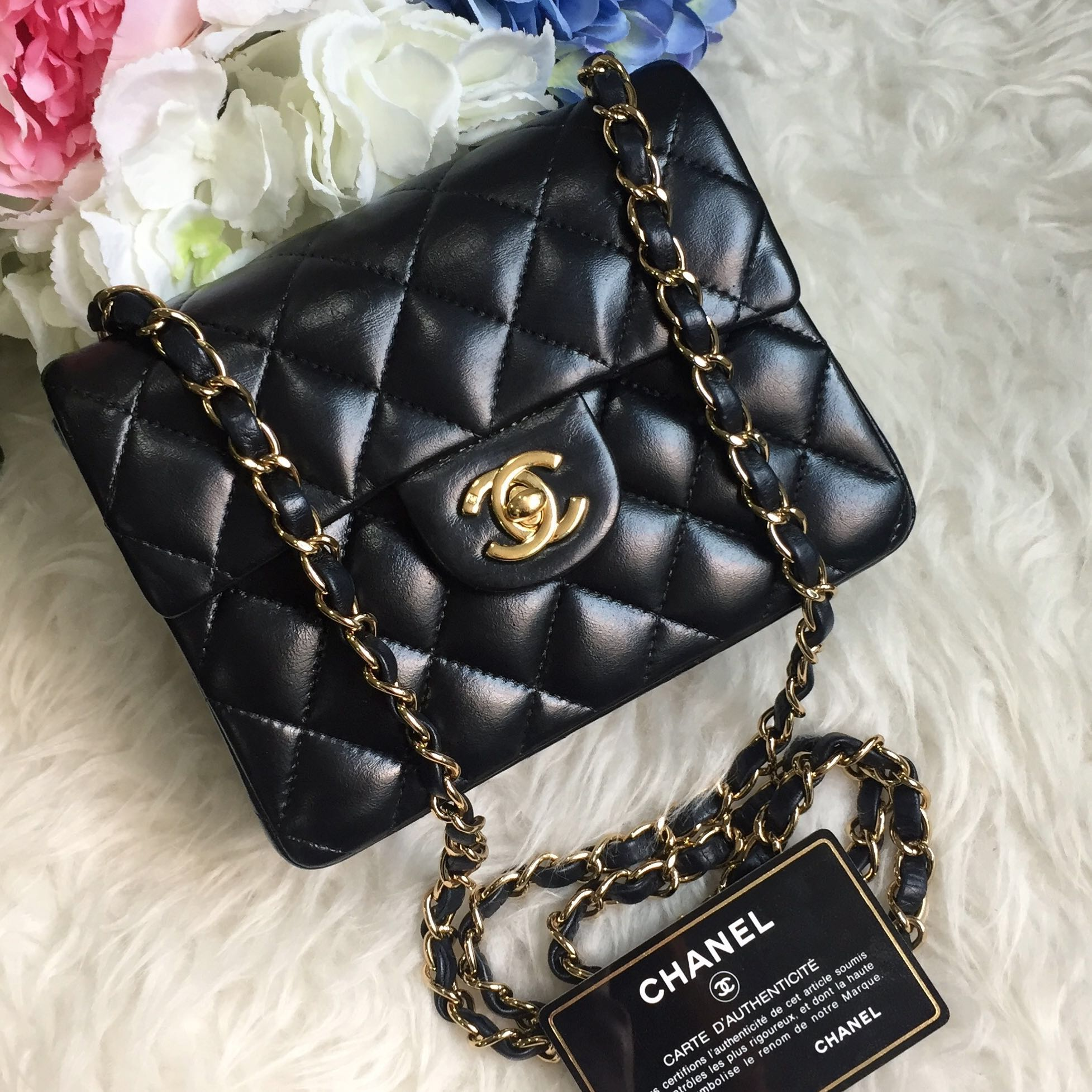 9aa5bb5f300c ❌SOLD!❌ Chanel Vintage Mini Square 7