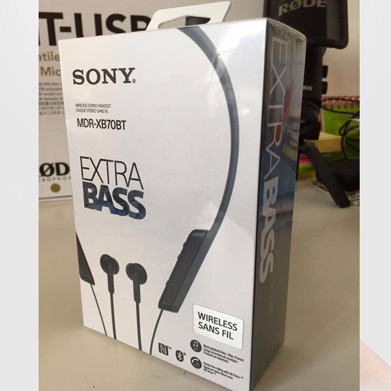 b45be452ee3 Sony MDR-XB70BT Extra Bass Bluetooth In-Ear Neckband Headphone ...