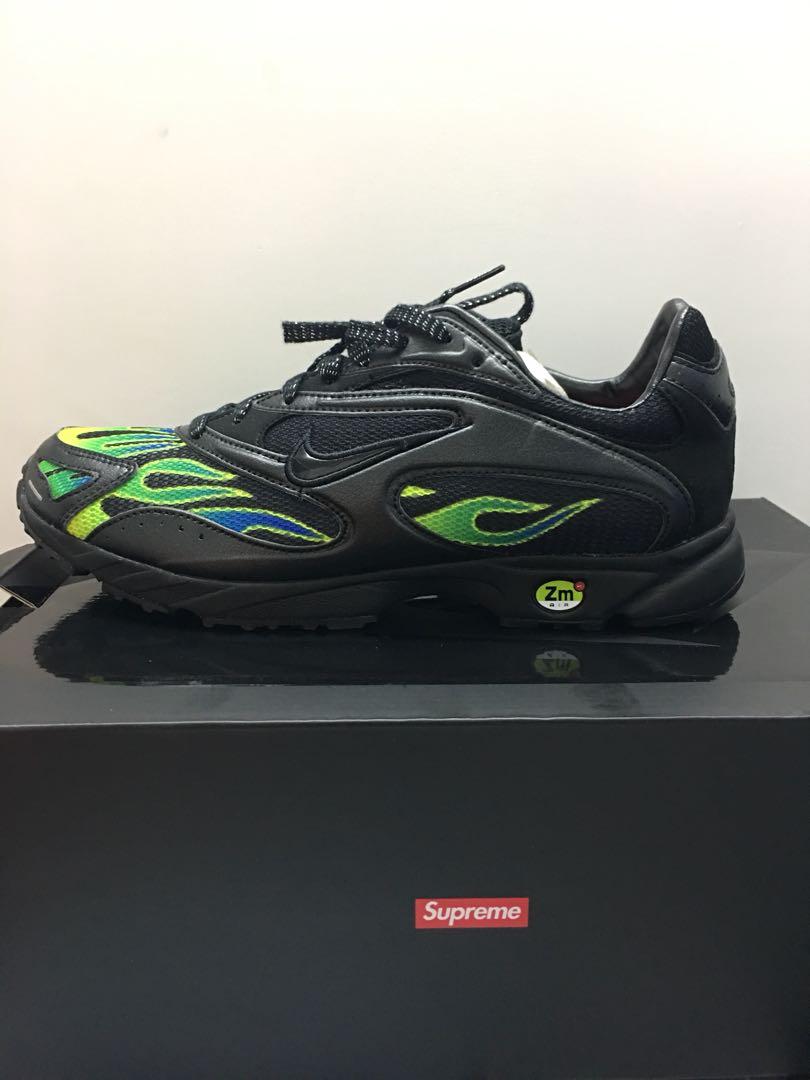 6d7dfb3d4636 Supreme Nike ZM STRK SPECTRUM PLS (Black)