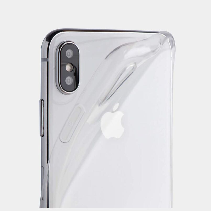low priced d55d7 30a2f Thin iPhone X Case by Totallee - Soft Clear