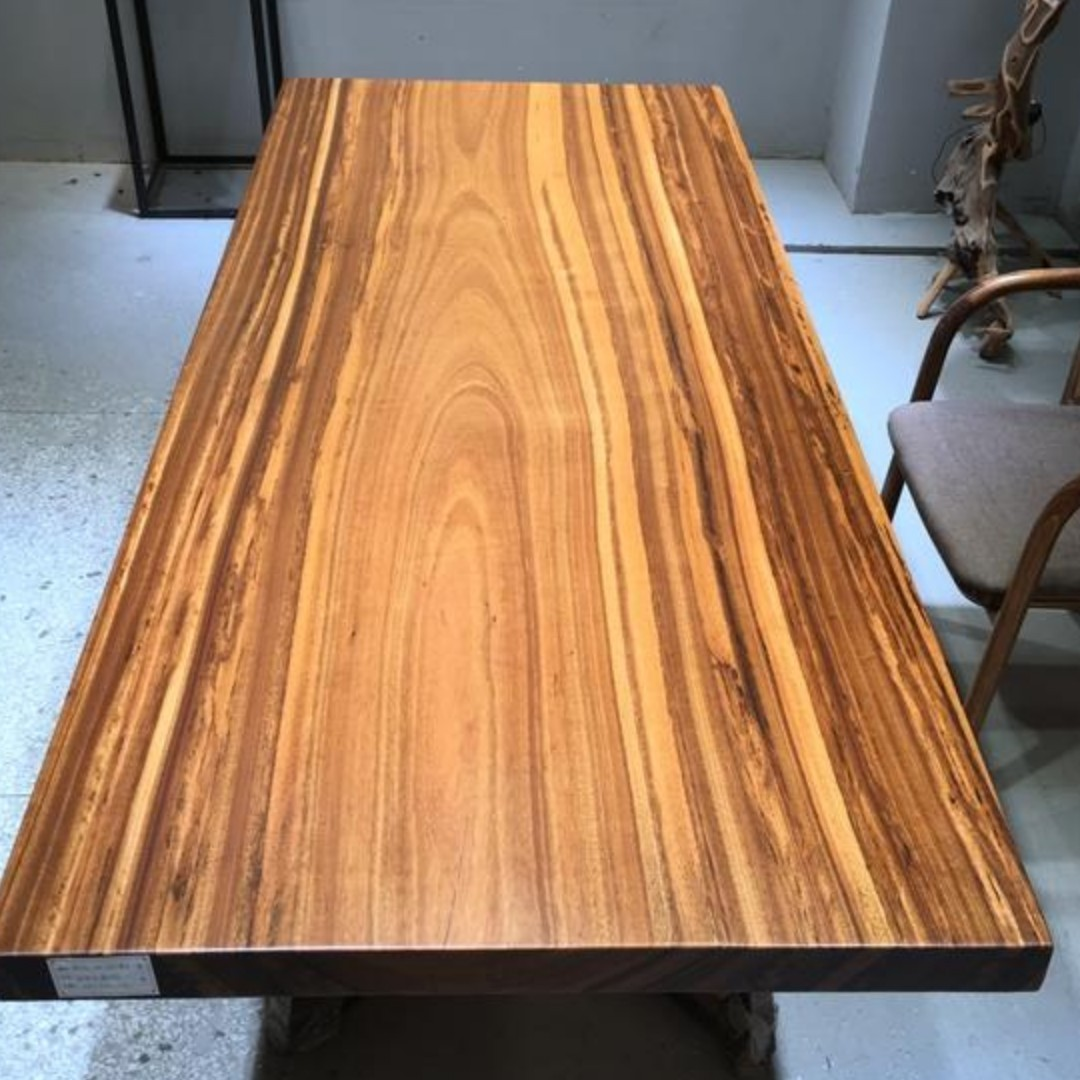 Tzeb 003 Gss Offer Top Grade Zebrano Zebrawood Wood Table Furniture Tables Chairs On Carou