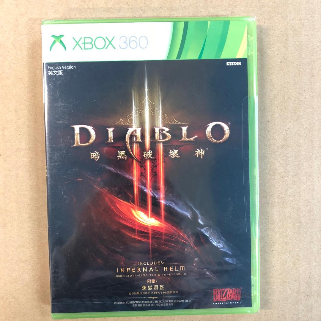 XBOX 360 DIABLO III-AS XBOX 360 暗黑破壞神III-亞洲版, Video Gaming