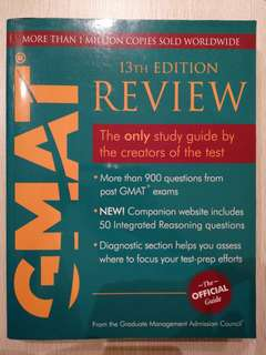 Official GMAT Review 13th Edition