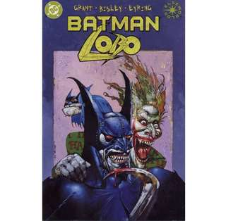 BATMAN / LOBO #1 (2000) One-shot Prestige Format