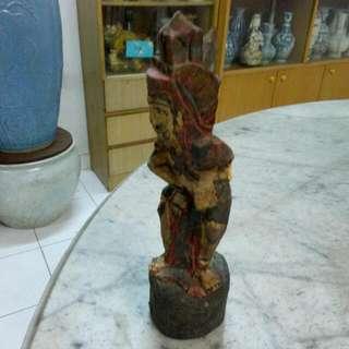 Wooden Statue Vintage 7