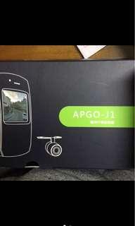 🚚 全新自售!Apgo-j1 機車 行車紀錄器 前 後 雙鏡頭 只有拆開看有無缺件 全新未使用 公司保固一年