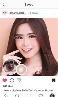 Softlens natural brown