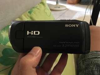 sony hdr-cx405 數位攝影機 有盒裝 保證卡 9成新