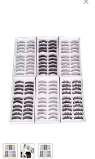 🚚 PO* 60pcs fake lashes promo!!