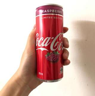 特別版可樂 澳洲紅桑苺味可樂