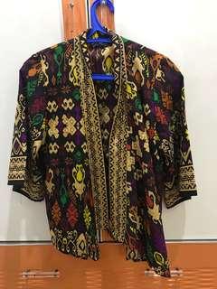 Outer Batik Lengan pendek