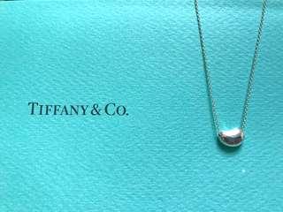 🚚 【9成5新。真品】Tiffany 經典款 相思豆項鍊 小豆項鍊