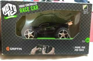 Griffin Moto TC Touch Controlled Black Race Car