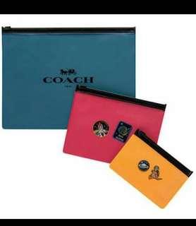 Coach transparent wallet