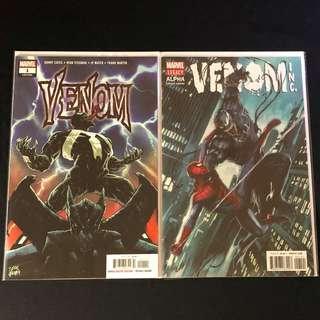 Venom #1 (2018), Venom Inc #1-#5