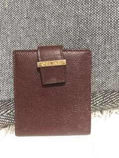 Authentic vintage celine wallet