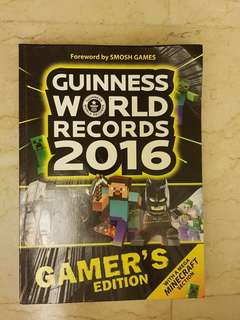 Guiness World Records 2016 Gamers Edition