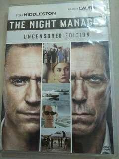 The night manager English drama DVD