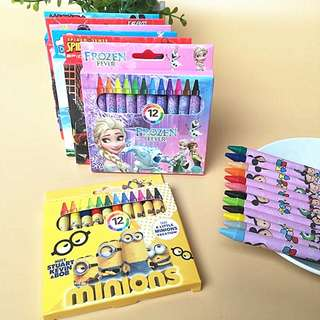 Cartoon Crayon - Goodie Bag / Goody Bag