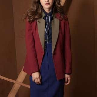 🚚 Marjorie 紅色西裝外套