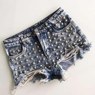High waisted shorts size 1 (0-4)