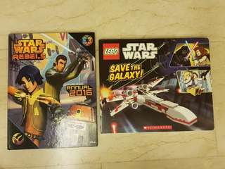 Star Wars board book & Star Wars Rebel 2016