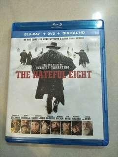 The hateful eight movie blu ray + DVD