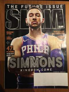 🚚 SLAM Magazine (July/Aug 2018) - Ben Simmons