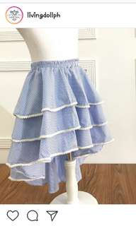 Livingdollph skirt pwede dress.. euc.. 2 to 3 years old