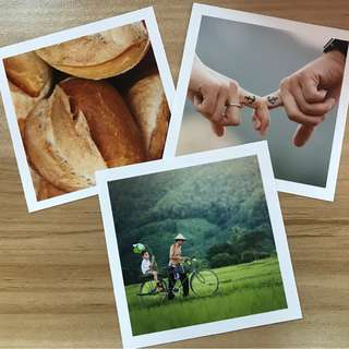 🚚 Square Photo Printing (Semi-Gloss)