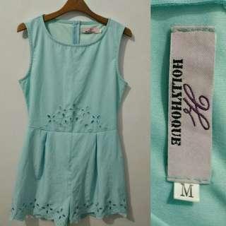 Hollyhoque Blue Jumpsuit