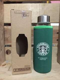 Starbucks botol minum kaca