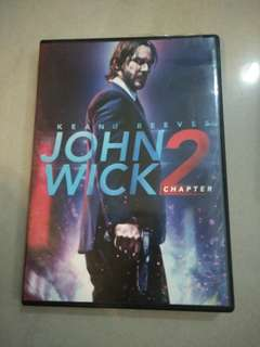 John wick 2 movie dvd