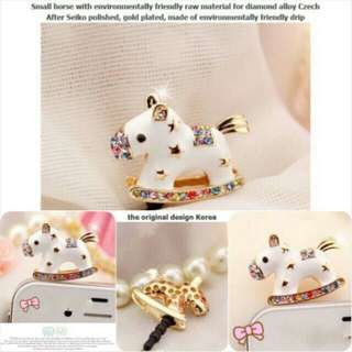 Korean Horse Jewelry Pluggy
