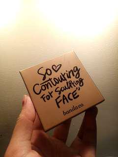 So Contouring for sculpting Face.