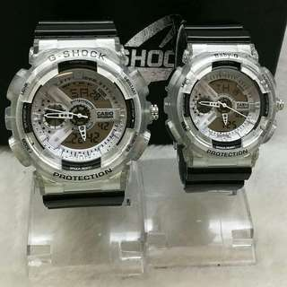 Casio G-Shock Ga 110 Couple Set