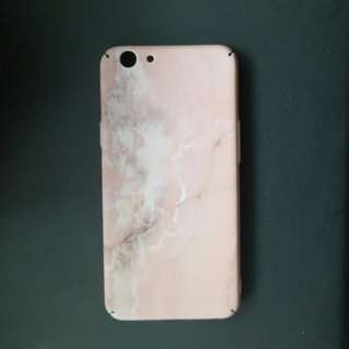 OPPO F1S Pink Marble Case