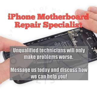 iPhone Motherboard Repair! 45min