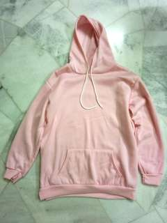 Baby Pink oversized Hoodie